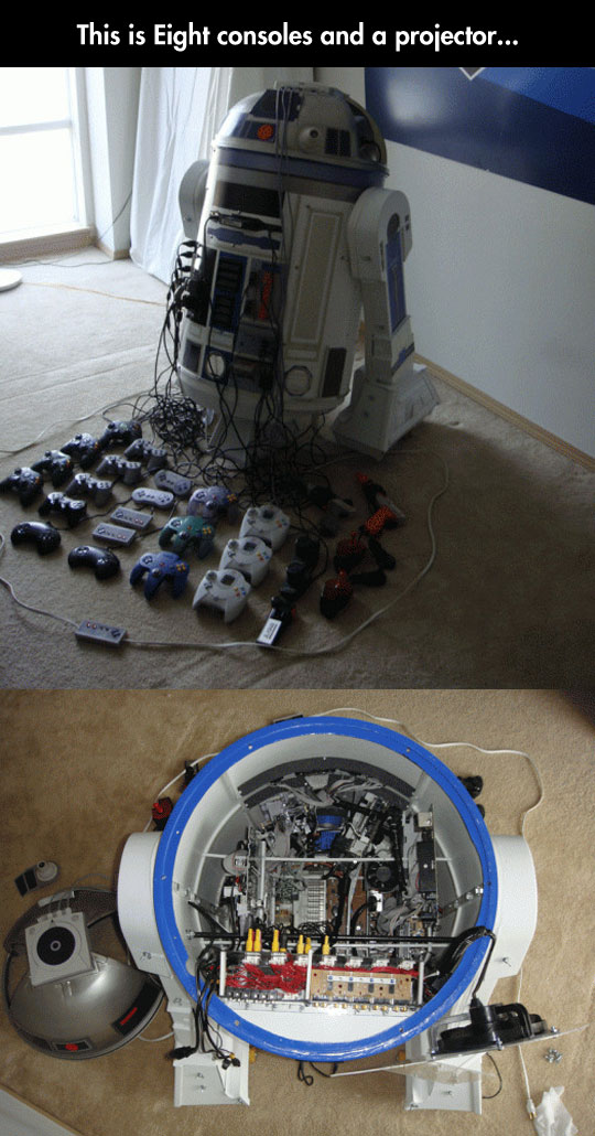 cool-R2D2-console-projector-controllers