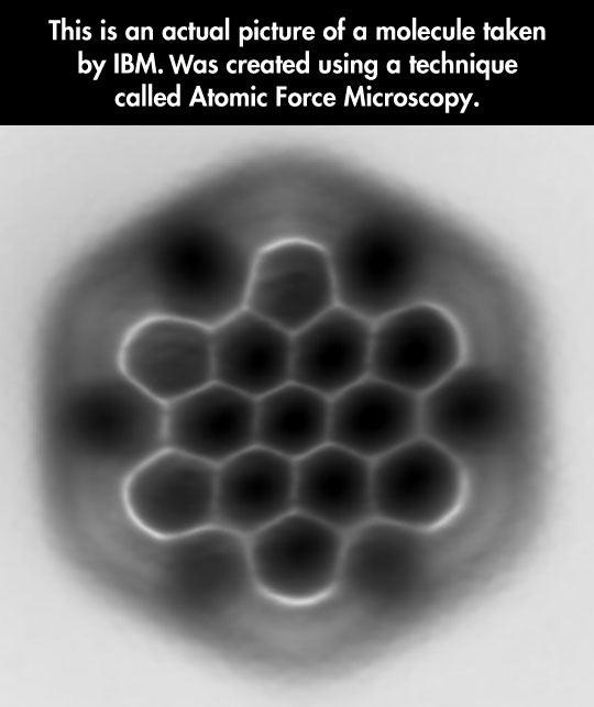 A Picture Of A Molecule