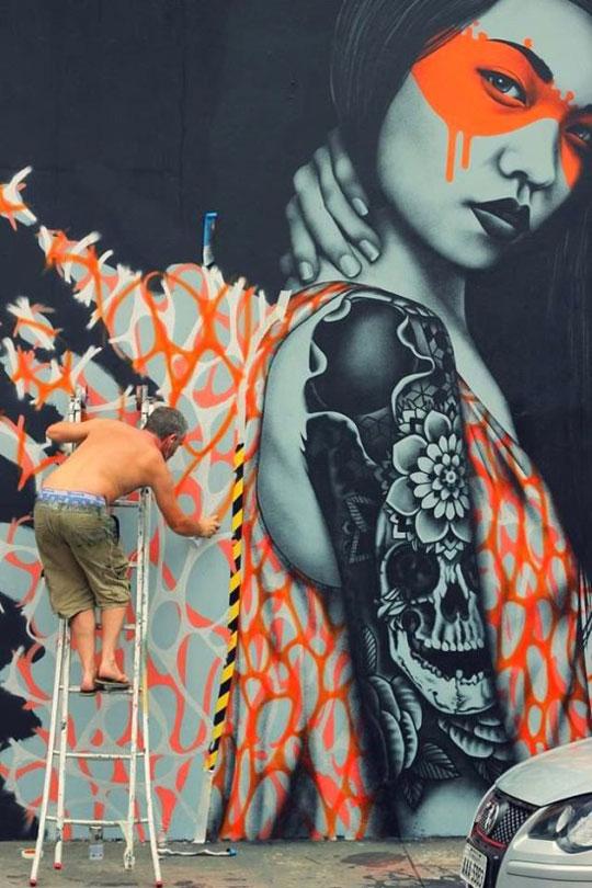Amazing Piece Of Street Art