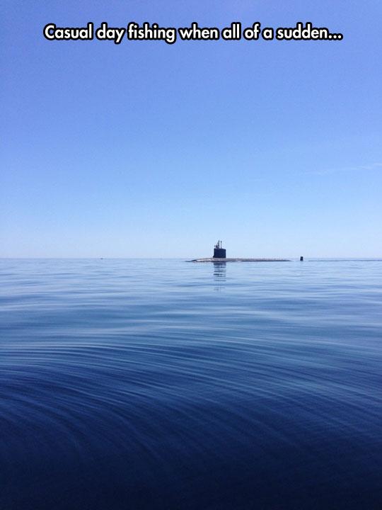 cool-submarine-sea-blue-sky
