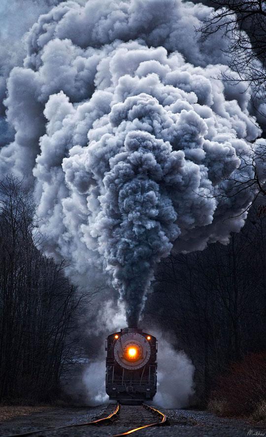 cool-train-night-smoke-darkness