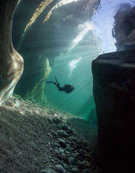 Cool Underwater Perspective