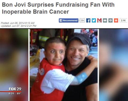 Bon Jovi Is An Evil Man