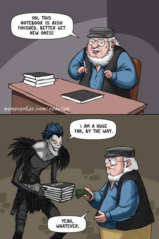 He Needs More Books
