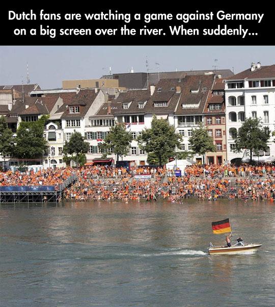 The Most Passive Aggressive German Invasion