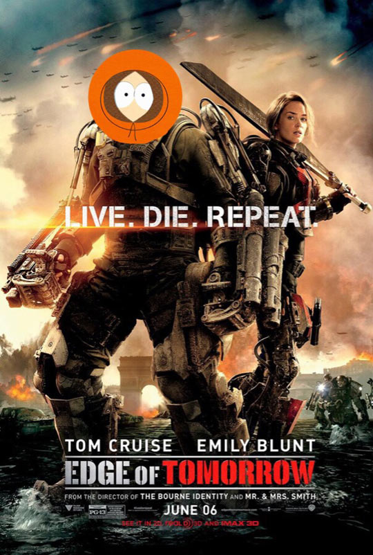Live. Die. Repeat.