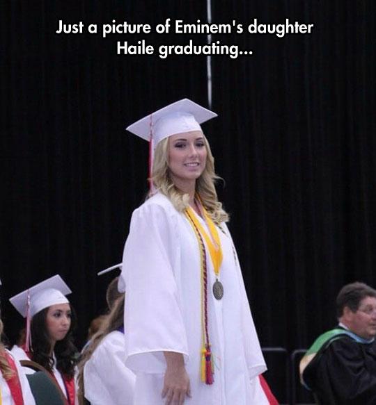 funny-Eminem-daughter-Haile-graduation