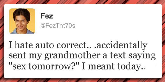Autocorrect Problems
