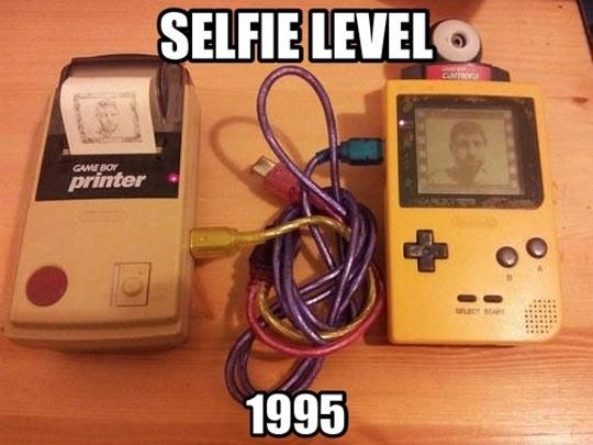 Taking Selfies 20 Years Ago