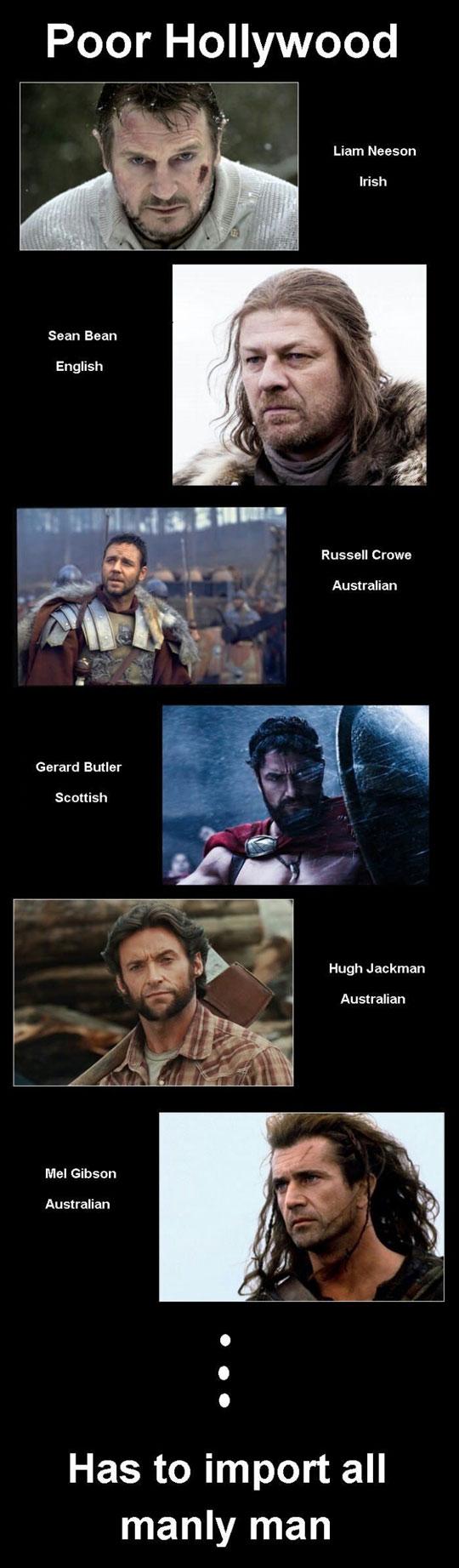 Hollywood Manly Men