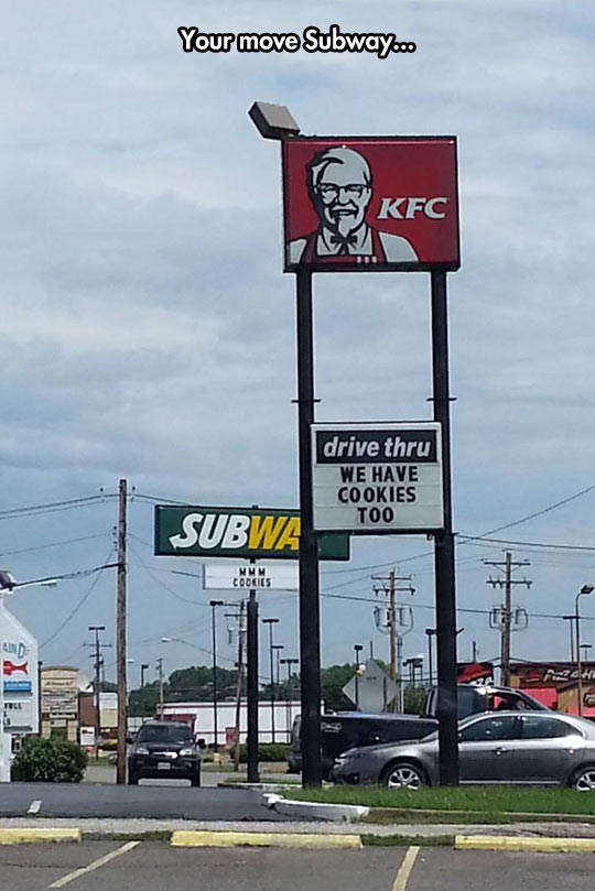 funny-KFC-Subway-cookies-sign