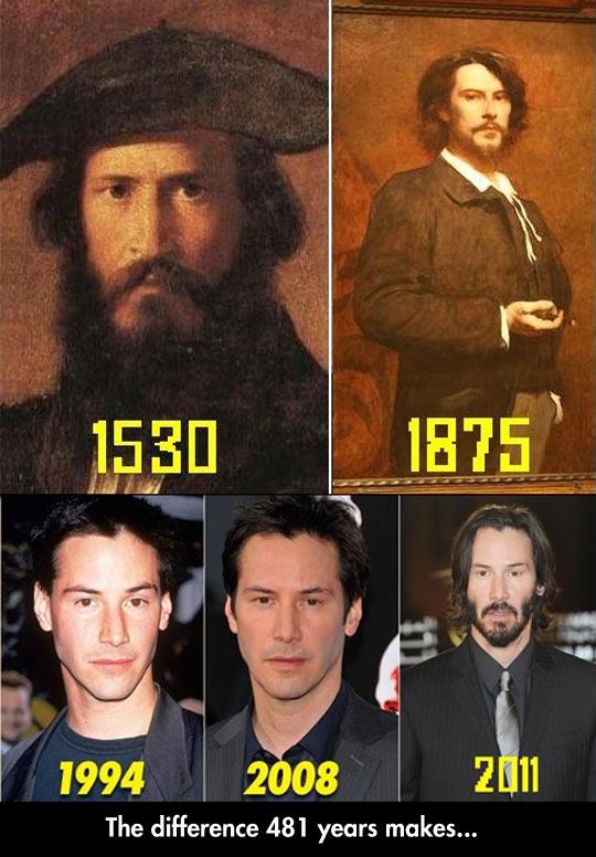 Keanu Reeves Is Immortal