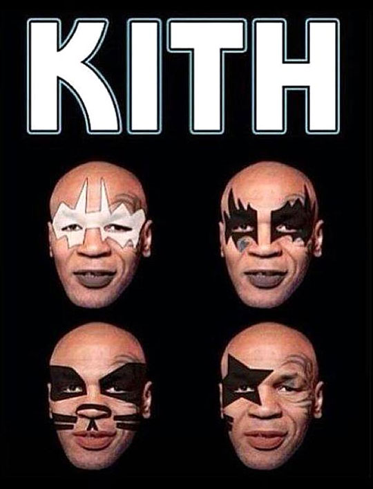 funny Kiss poster Mike Tyson1 mike tyson's new band
