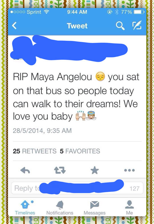 Maya Angelou Showed Us The Way