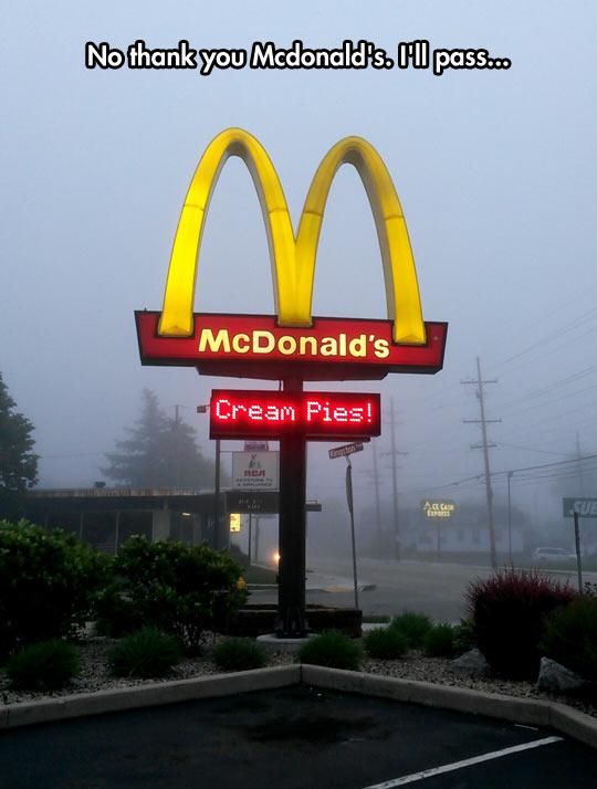 McDonalds New Healthy Menu