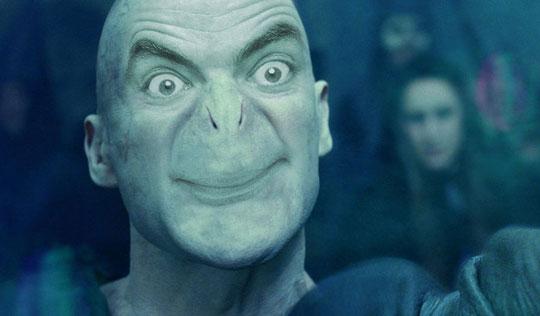 Funny Mr Bean Meme : Mr. bean as lord voldemort