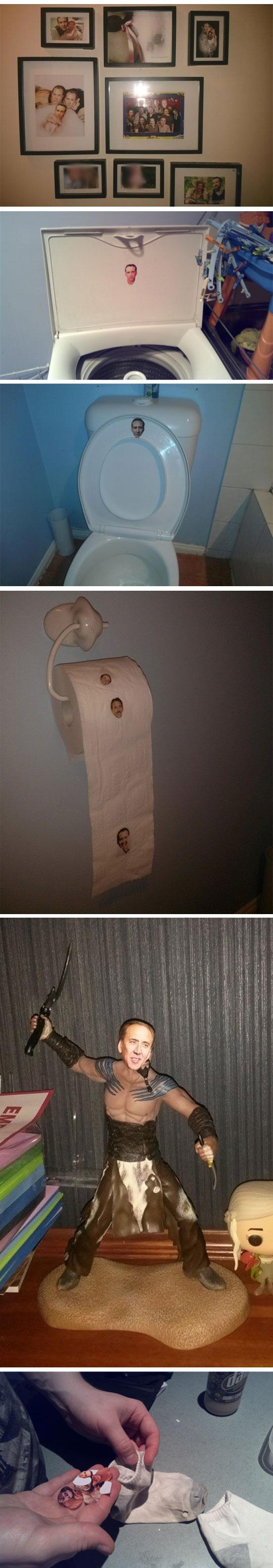 funny-Nicolas-Cage-prank-house-faces