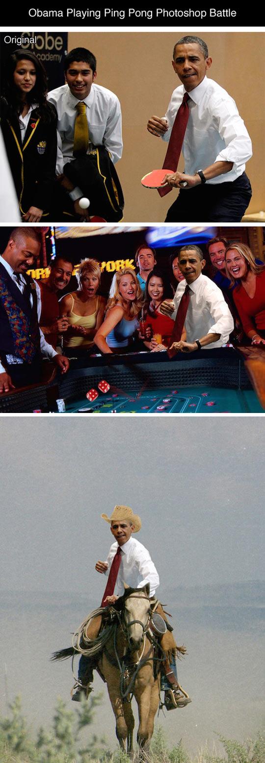 funny-Obama-photoshopped-ping-pong-battle