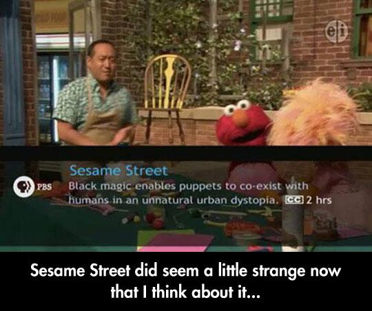 Accurate Show Description