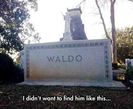 funny-Waldo-grave-cemetery