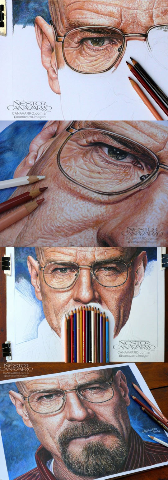funny-Walter-White-pencil-drawing
