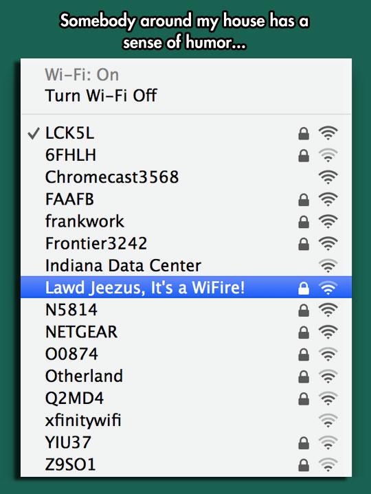 That WiFi Name