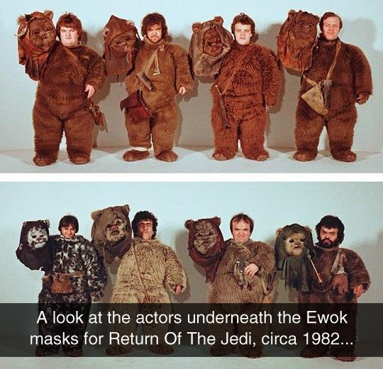 The Real Ewoks