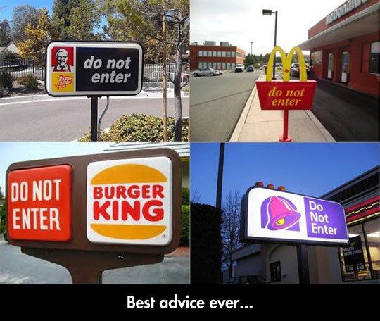 funny-advice-sign-McDonalds-Burger-King