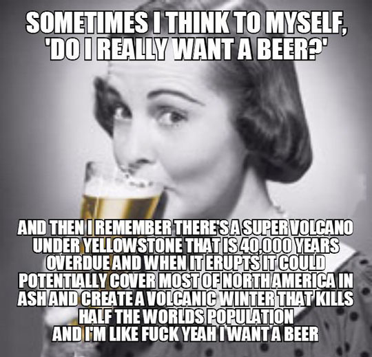 A Reason To Drink Beer