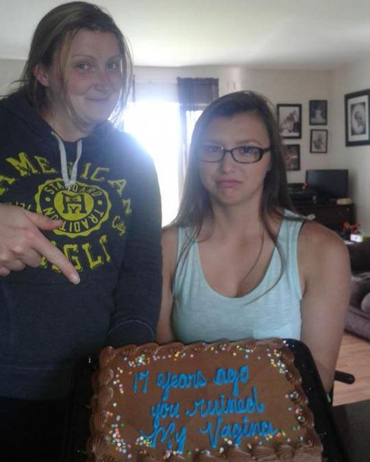 An Interesting Birthday Cake