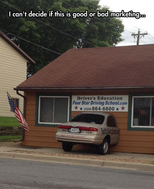 funny-car-house-driving-school