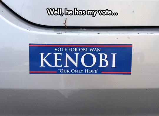 funny-car-sticker-Obi-Wan-Kenobi-vote