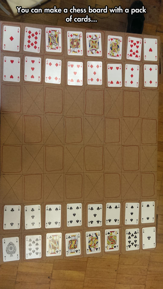 Chess With Cards