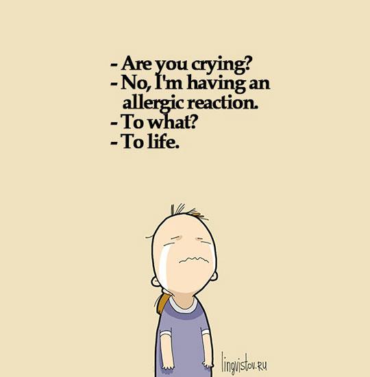 An Allergic Reaction