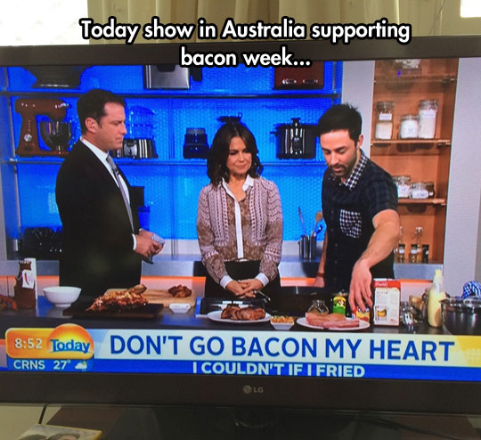 Supporting Bacon Week