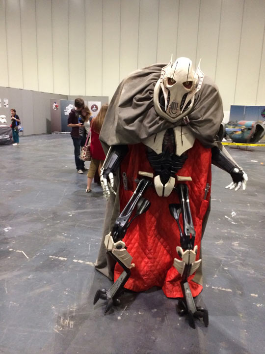 Incredible General Grievous Cosplay