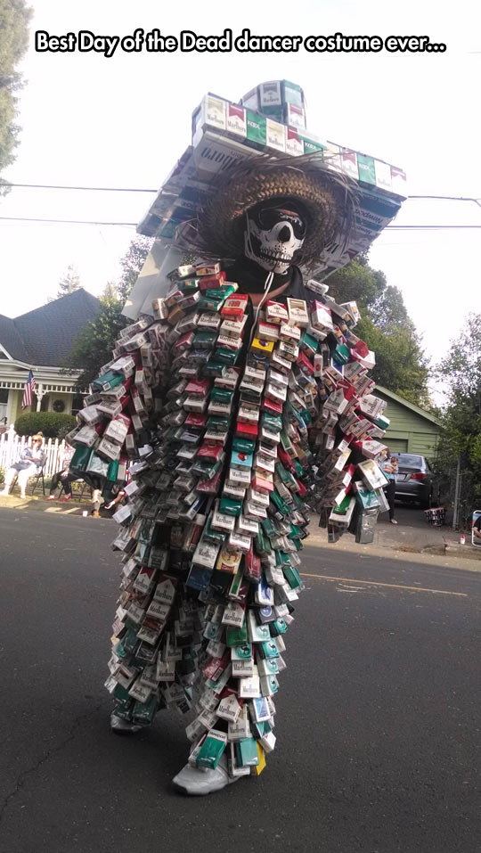 Death Costume With Its Sponsors