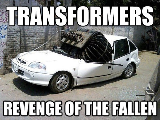 funny-destroyed-car-Transformers