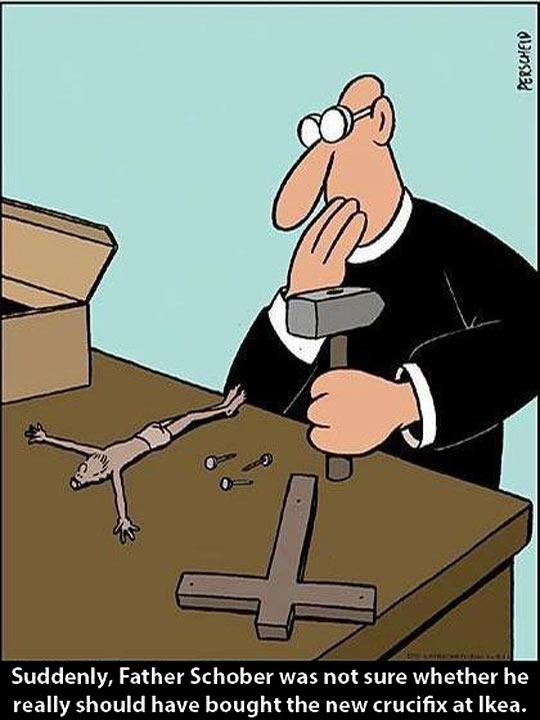 Ikea Crucifix