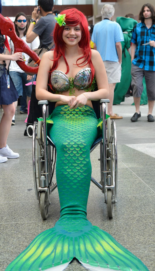 funny-girl-cosplay-Ariel-Wheelchair