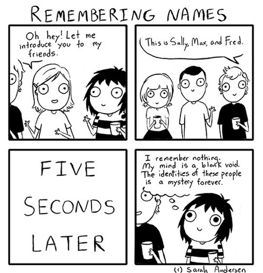 Remembering Names