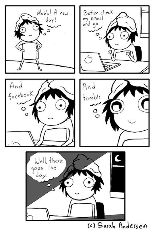 funny-girl-towel-check-social-network-comic