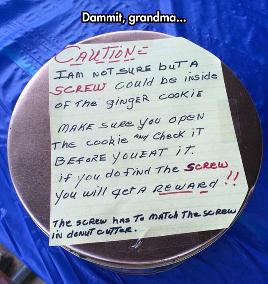 Seriously, Grandma?