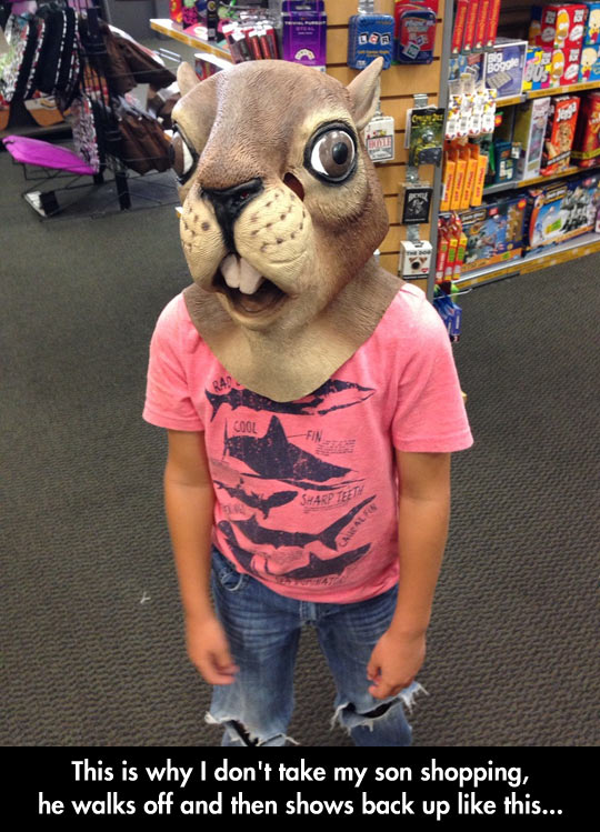 Shopping With Kids Is A Weird Experience