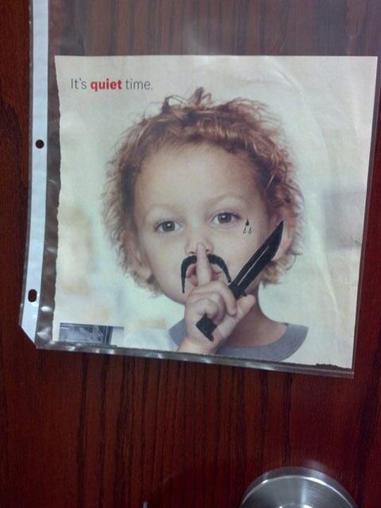 Shhh Now, It