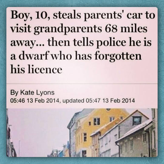That Kid Is Going Places