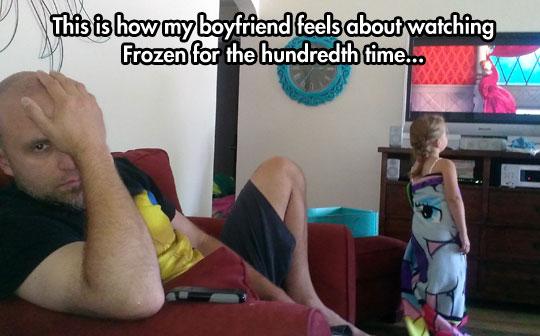 funny-kid-watching-TV-Frozen-boring