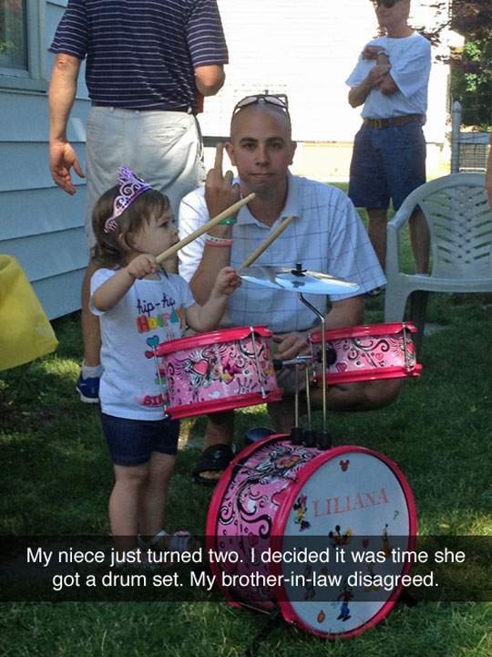 funny-little-girl-drum-set-angry-parent