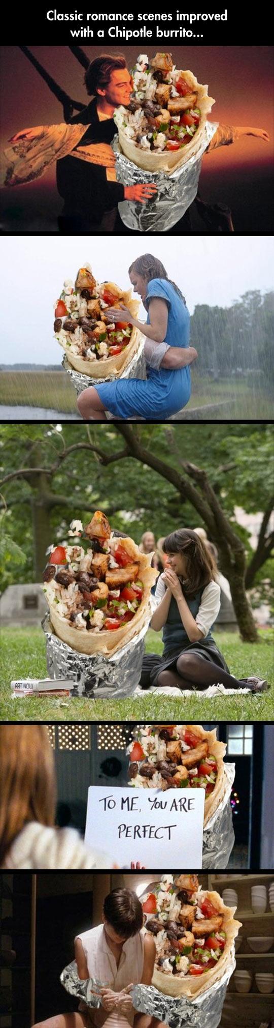 Romantic Burrito