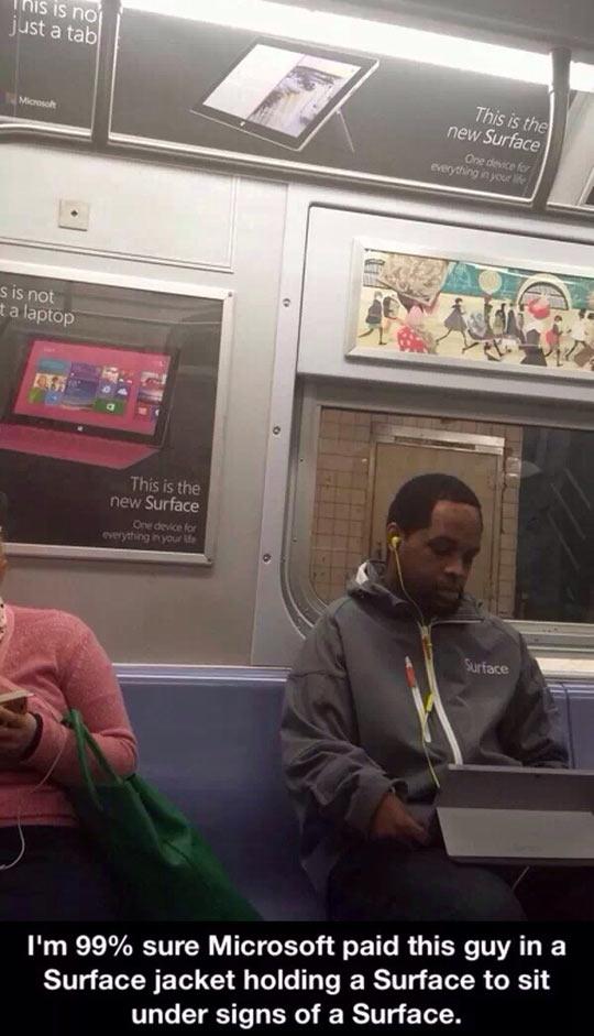 funny-man-Surface-subway-computer